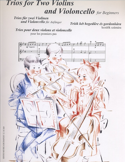 HAL LEONARD Soos, Andras: Trios for Two Violins & Cello for Beginners (2 violins & cello) score & parts