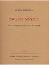 C.F. Peters Bresgen, Cesar: Cello Sonata No.2 (cello & piano)