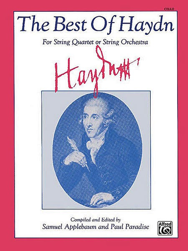 Alfred Music Haydn, J. (arr.): The Best of Haydn (cello)