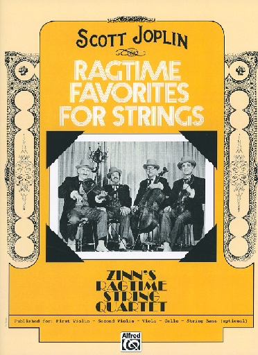 Alfred Music Joplin, Scott (Zinn): Ragtime Favorites for String Quartet (Violin 1)