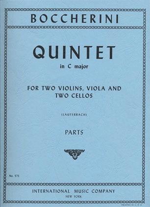 International Music Company Boccherini, Luigi: Quintet in C major (2 violins, viola, 2 cellos)
