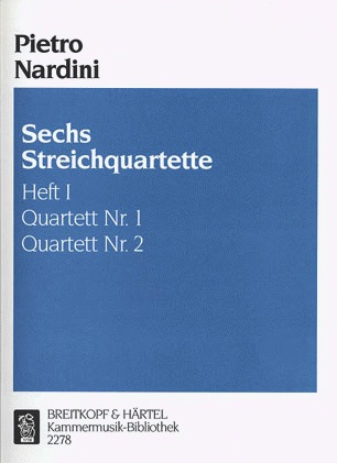 Nardini, Pietro: String Quartets Vol. 1, Nos. 1 and 2