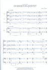 HAL LEONARD Tower, Joan: Dumbarton Quintet (for piano quintet)