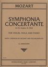 International Music Company Mozart: Sinfonia Concertante in Eb Major, K.364 (violin, viola, & piano)