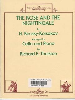Southern Music Company Rimsky-Korsakov, Nikolai: The Rose & the Nightengale (cello & piano)