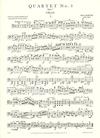 International Music Company Bartok, Bela: String Quartet No. 1 Op. 7 (set of parts)