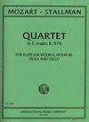 International Music Company Mozart, W.A.: String Quartet in C major, K.570 (flute or violin, viola and cello)