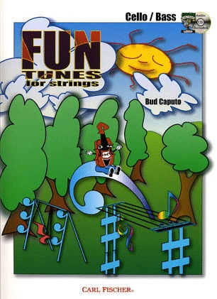 Carl Fischer Caputo, Bud: Fun Tunes for Strings (cello & CD)
