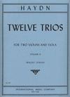 International Music Company Haydn (Lyman): 12 Easy Trios, Vol.2 (2 violins, & viola)