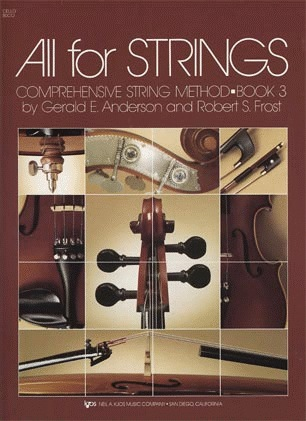 Anderson & Frost: All for Strings, Bk.3 (cello)
