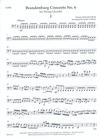 LudwigMasters Bach, J.S. (Latham): Brandenburg Concerto No. 6 arranged for string quartet (score & parts)