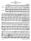 Barenreiter Brahms (Hogwood): Trio in Eb Major for Violin, Horn, & Piano, Op.40 - URTEXT (violin, horn/viola/cello, & piano)  Barenreiter