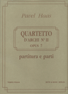 HAL LEONARD Haas, P.: String Quartet No.2, Op.7 - From the Monkey Mountains (string quartet)