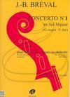 Edition Delrieu Breval: Concerto No.1 in G Major (cello & piano) Edition Delrieu