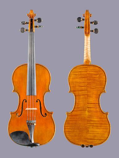 Arcos Brasil Ignazio Emilietti Guarneri model violin, 2017, with Italian Spruce & European maple