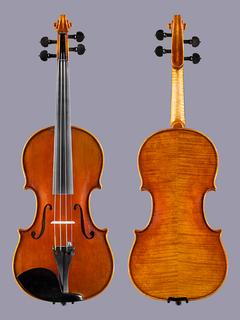 Heinrich Gill Heinrich Gill Le Mans German 4/4 violin ***CERT***