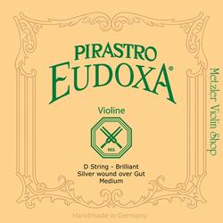 Pirastro Pirastro EUDOXA violin D string, Brilliant (Discontinued)