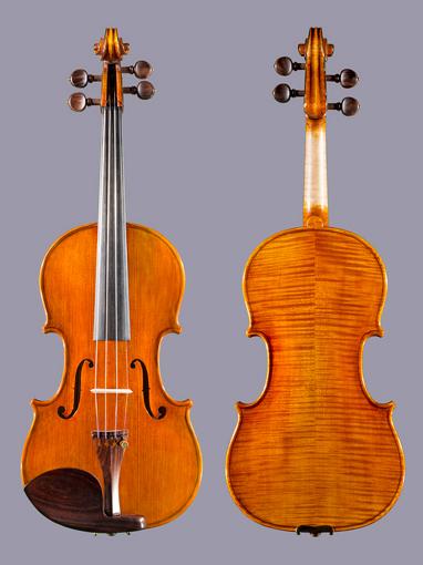 Aubert Georges Michel violin by Aubert Lutherie, #37, 2015, Mirecourt - France ***CERT***