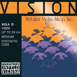 Thomastik-Infeld VISION viola D string, aluminum wound, medium, by Thomastik-Infeld