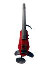 NS Design NS Design WAV5 Transparent Red 5-string violin with case