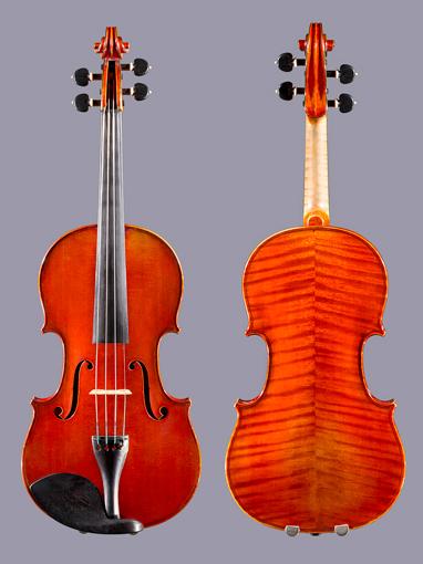 French Paul Blanchard 4/4 violin Lyon 1906 No. 658