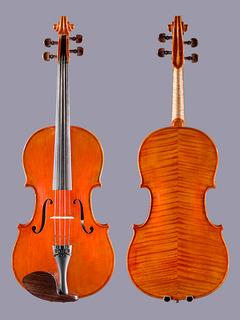 """Carlos Funes Vitanza 16.5"""" viola, 2012, San Francisco, USA"""