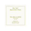 Misc. Es Hill violin E string thick ball