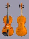 Benjamin King 4/4 violin No. 6, 1938