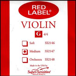 Super-Sensitive Red Label violin G 4/4