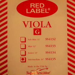 Super-Sensitive Red Label viola G 14""