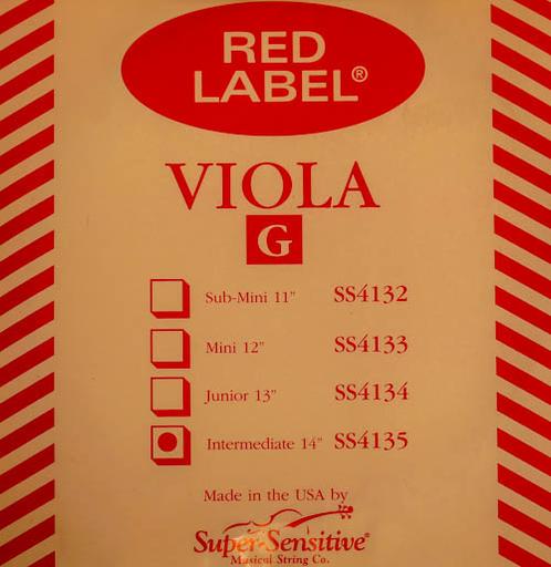 "Super-Sensitive Red Label viola G 14"""