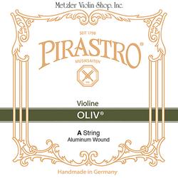 Pirastro Pirastro OLIV violin A string aluminum straight in tube
