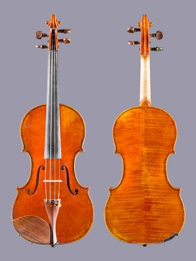 French Bodo Vosshenrich 4/4 violin, 2002 No. 10, FRANCE