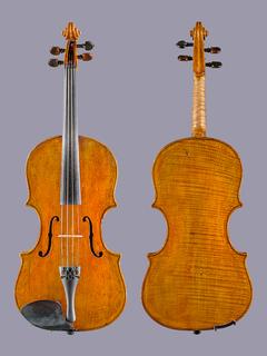 "Danish Carl Mettus Weis 17"" viola, Copenhagen ca 1850"
