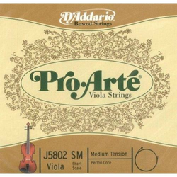 "D'Addario D'Addario Pro-Arté viola long string set (15""-17""), medium"