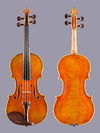 French Jean-Charles Guillot 4/4 violin, Tours, France 2012