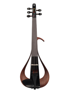Yamaha New Yamaha YEV-105BL 5-string Electric Violin with black body, IN STOCK