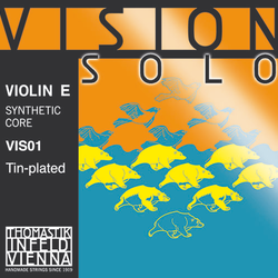 Thomastik-Infeld VISION SOLO violin E string, tin plated steel, 4/4, by Thomastik-Infeld