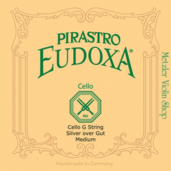 Pirastro Pirastro EUDOXA cello G string, silver on gut
