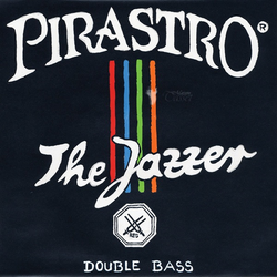 Pirastro Pirastro THE JAZZER bass chrome string set