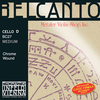 Thomastik-Infeld BELCANTO cello D string, chrome wound, medium, by Thomastik-Infeld