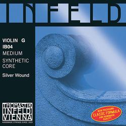 Thomastik-Infeld INFELD BLUE violin G string, silver-wound, medium, by Thomastik-Infeld