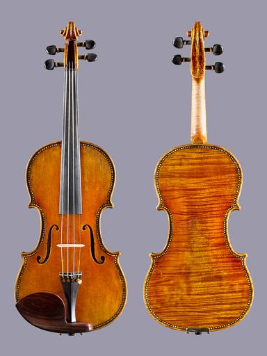 Arcos Brasil Camillo Callegari Hellier Strad 1679 model 4/4 violin, 2013