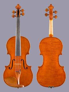 Italian Raphael Le Cointe 4/4 violin, Cremona Italy, 2003
