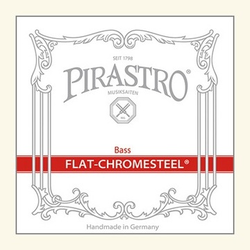 Pirastro Pirastro FLAT-CHROMESTEEL 3/4 bass string set