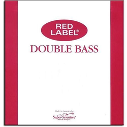 Super-Sensitive Red Label bass D string