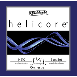 D'Addario D'Addario Helicore Orchestra 3/4 bass string set, medium
