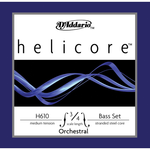 D'Addario D'Addario Helicore Orchestra 3/4 bass string set, medium