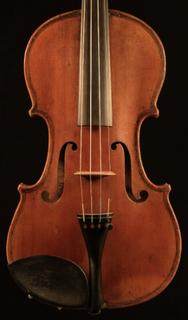 French SALOMON label French violin ca 1900