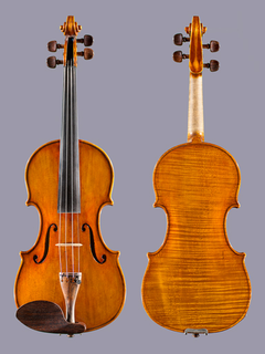 John Burdette 4/4 violin, 1982, Merchantville, New Jersey
